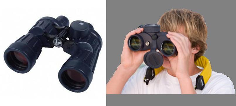 Special features of marine binoculars