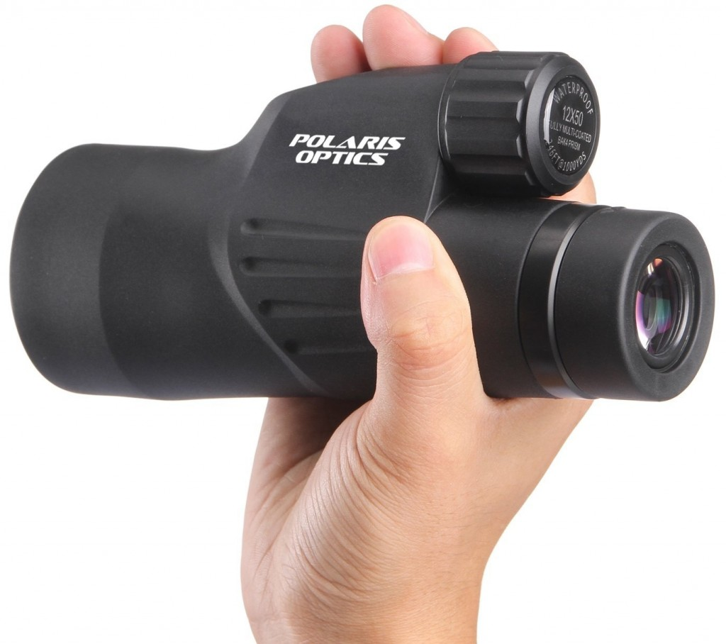 12X50 High Powered Monocular View