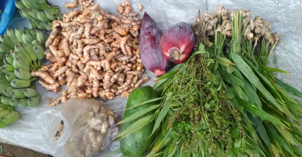 Local Vegetables Tinap Saitar